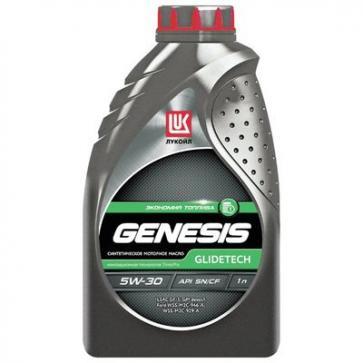 Моторное масло Лукойл GENESIS GLIDETECH 5W-30 (1 литр)